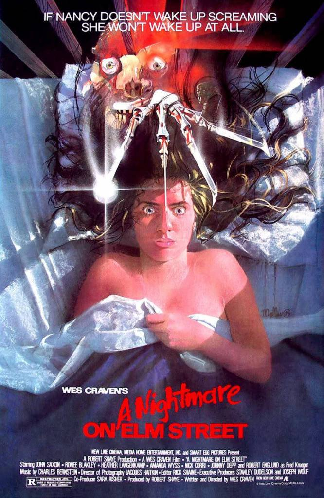 A Nightmare On Elm Street A4 Movie Poster Print   Wall Art   Horror Movie Posters Robert Englund