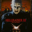 Hellraiser 3 Hell on Earth A4 Movie Poster Print | Horror Movie Posters | Wall Art | Collectible