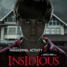 Insidious A4 Movie Poster Print | Horror Movie Posters | Wall Art
