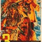 Rob Zombies 3 From Hell A4 Movie Poster Print | Sid Haig, Sheri Moon Zombie, Bill Moseley V.1
