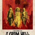 Rob Zombies 3 From Hell A4 Movie Poster Print | Sid Haig, Sheri Moon Zombie, Bill Moseley V.2