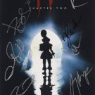 Stephen Kings IT Chapter 2 (2017) A4 Movie Poster signed by CastGreat Gift Idea!
