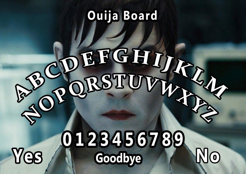 Dark Shadows A4 Laminated Ouija Board / Poster   Ghost Hunting   EVP   Seances