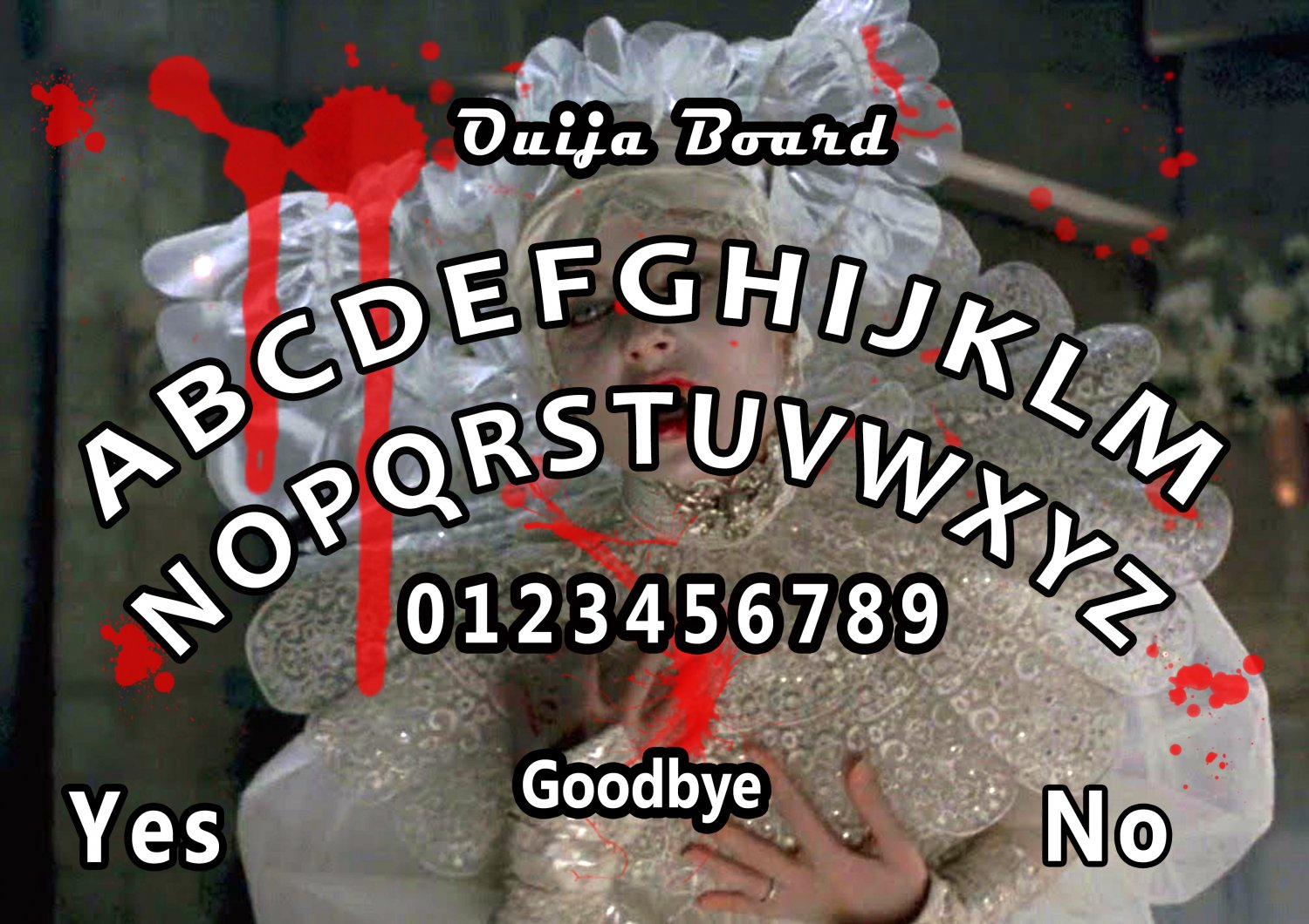 An Interview With A Vampire A4 Laminated Ouija Board / Poster | Ghost Hunting | EVP | Seances.
