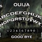 Spooky Haunted House A4 Laminated Ouija Board / Poster print   Ghost Hunting   EVP   Seances