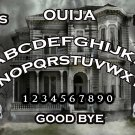 Spooky Haunted House A4 Laminated Ouija Board / Poster print | Ghost Hunting | EVP | Seances V.2