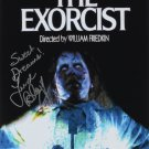 The Exorcist movie poster signed by Linda Blair (Reprint Ref:LB1) GREAT GIFT IDEA!
