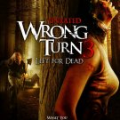 Wrong Turn 3 Left For Dead 0ne Page A4 Glossy Movie Poster Print Wall Art (FREE UK Shipping)