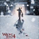 Wrong Turn 4 Blood Beginnings 0ne Page A4 Glossy Movie Poster Print Wall Art (FREE UK Shipping)