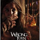 Wrong Turn 5 Bloodlines 0ne Page A4 Glossy Movie Poster Print Wall Art (FREE UK Shipping)