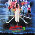 A Nightmare On Elm Street Part 3 Dream Warriors One Page A4 Glossy Movie Poster (Free Shipping)