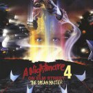 A Nightmare On Elm Street Part 4 The Dream Master One Page A4 Glossy Movie Poster (Free Shipping)