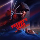 Freddy's Dead The Final Nightmare One Page A4 Glossy Movie Poster (Free Shipping)