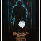 Friday The 13th Part 3D One Page A4 Glossy Movie Poster | Wall Art (Free UK Shipping)