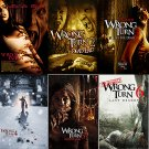 Wrong Turn movie poster collection A4 Glossy Prints | Wall Art | Movie Posters (FREE UK Shipping)