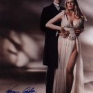"""Veronica Carlson with Peter Cushing  8 x 10"""" Autographed Photo Dracula (Free UK Shipping)"""