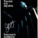Halloween (1979) Movie Poster Signed By John Carpenter (Reprint/Great Gift Idea!)