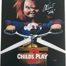 Child's Play 2 Movie Poster Print signed by Alex Vince | Art Print (Reprint Great Gift Idea)