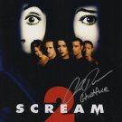 Wes Craven's Scream 2 Photo signed by Chris Durand (Ghost Face Reproduction)
