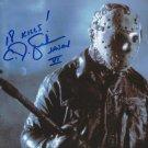 """C.J Graham 8 x 10"""" Autographed Photo Friday The 13th Part 6: Jason Lives (Reprint:600)"""