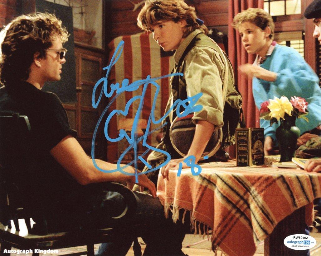 "Corey Feldman (Edgar Frog: The Lost Boys /The Goonies) 8 x 10"" Autographed Photo (Reprint:543)"