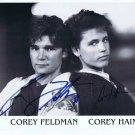 The Two Corey's Autographed Photo Corey Haim & Corey Feldman The Lost Boys  (Ref:544)