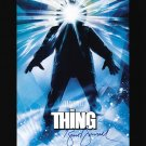 The Thing A4 Movie Poster Signed by Kurt Russell Must HAVE !!!(Reprint Ref:LB11) Great Gift Idea!
