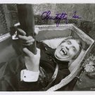 """Christopher Lee 8 X 10"""" Autographed photo Dracula / Lord of The Rings / Sleepy Hollow (Reprint :557)"""