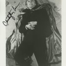 """Christopher Lee 8 X 10"""" Autographed photo Dracula / Lord of The Rings / Sleepy Hollow (Reprint :560)"""