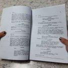Annabelle (2015) Unspecified draft movie script by Gary Dauberman Collectors item!