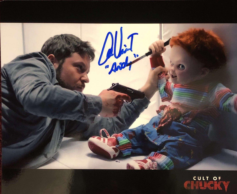Alex Vincent The Cult of Chucky 8 x 10 Autographed Photo (Reprint 579)