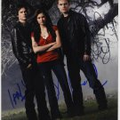 The Vampire Diaries Cast X 3 Autographed Photo Ian, Nina & Paul (Reprint 546)