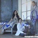 The Vampire Diaries Cast X 3 Autographed Photo Ian, Nina & Paul (Reprint 525)