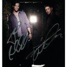 Supernatural Cast X 2 Autographed Photo Jensen Ackles  & Jared Padalecki (Reprint 547)