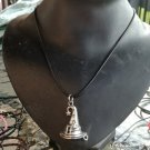 Witches / Wizards Hat Necklace (Pagan / Wicca/ Witchcraft / Emo / Goth / Harry Potter)