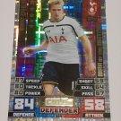 Tottenham Hotspurs Match Attax Topps Silver Foll Defender Card Eric Dier 84/58