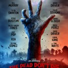The Dead Don't Die! Glossy A4 Movie Poster   Horror Posters   Wall Art