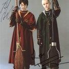 Harry Potter Cast X 2 Autographed Photo (Daniel Radcliffe & Tom Felton:  Reprint)