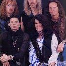 Aerosmith  8 x 10 Autographed / Signed Group Photo (Reprint 651 Great Gift Idea!)
