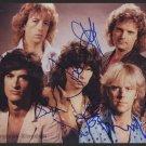 Aerosmith 8 x 10 Autographed Group Photo Steven Tyler, Joe Perry (Reprint 654)