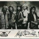 Aerosmith 8 x 10 Autographed Group Photo Steven Tyler, Joe Perry (Reprint 656)