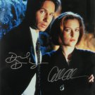 The X Files Cast x 2 David Duchovny & Gillian Anderson 8 x 10 Autographed Photo (Reprint 658)
