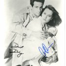 The X Files Cast x 2 David Duchovny & Gillian Anderson 8 x 10 Autographed Photo (Reprint 660)