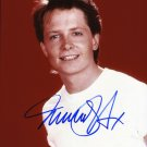 Michael J Fox Back To The Future 8 x 10 Autographed Photo (Reprint 669 Great Gift Idea!)