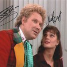 Colin Baker & Nicola Bryant 8 x 10 Autographed Photo Dr Who (Reprint 677 Great Gift Idea!)