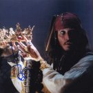 Johnny Depp Pirates of The Caribbean 8 x 10 Autographed Photo (Reprint 682 Great Gift Idea!)