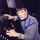 Leonard Nimoy Star Trek 8 x 10 Autographed / Signed Photo (Reprint 696 Great Gift Idea!)