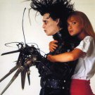 Johnny Depp & Winona Ryder Edward Scissorhands 8 x 10 Autographed Photo  (ES04)