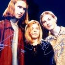 Hanson 5 x 7 Autographed Group Photo Isaac, Taylor & Zac Hanson (Reprint 705 Great Gift Idea)