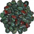 Wholesale 10 x Tumbled Bloodstone Crystal Gemstone (Reiki, Crystal Healing, Pagan, Occult,  Magic)